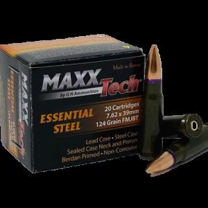 BUY MAXXTECH ESSENTIAL STEEL 7.62X39MM AMMUNITION ONLINE