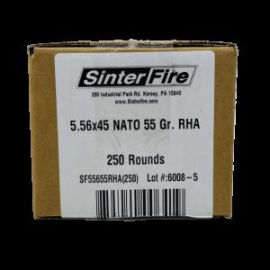 BUY SINTERFIRE 5.56X45MM NATO AMMUNITION ONLINE
