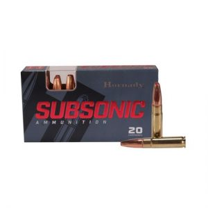 HORNADY SUBSONIC-.300-AAC-BLACKOUT 190 FOR SALE