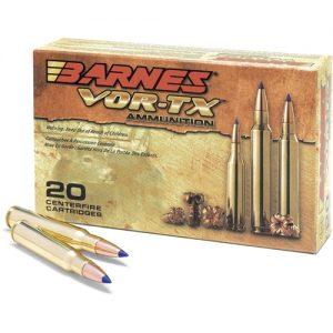 Barnes VOR-TX 6.5 Grendel Ammo 115 Grain TTSX Boat Tail